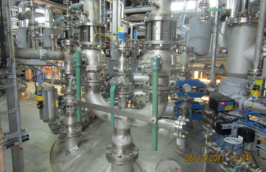 Kaneka - prefabricatie piping MOD reactoren